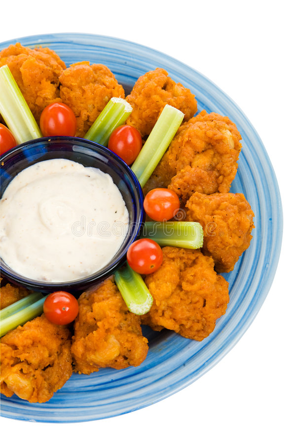 Download Hot Wing Plate stock image. Image of fattening, closeup - 6966397