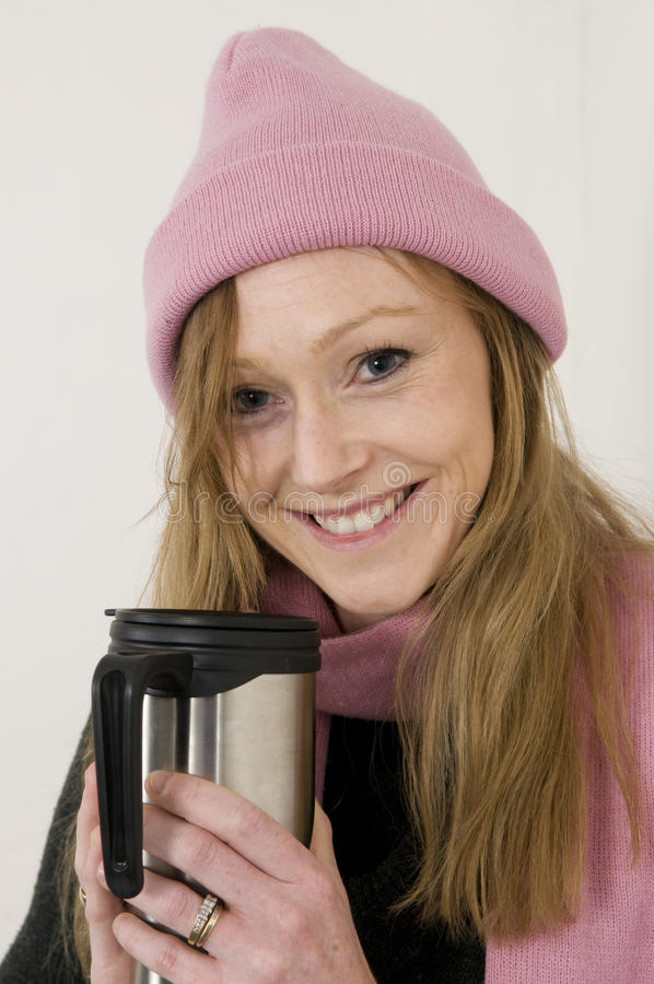 Hot Winter Drink royalty free stock image