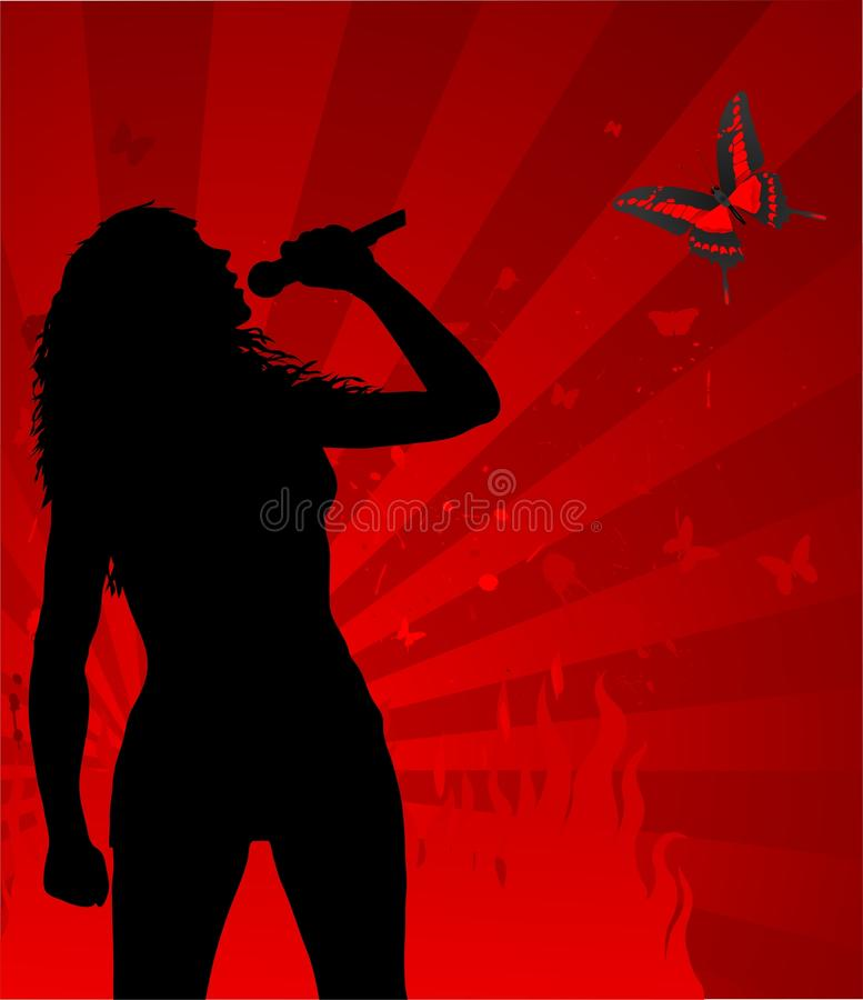 Download Hot Woman Singer Royalty Free Stock Photos - Image: 20075938