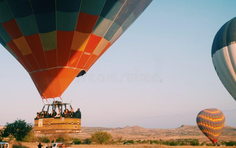 HotAir Balloon stock photography