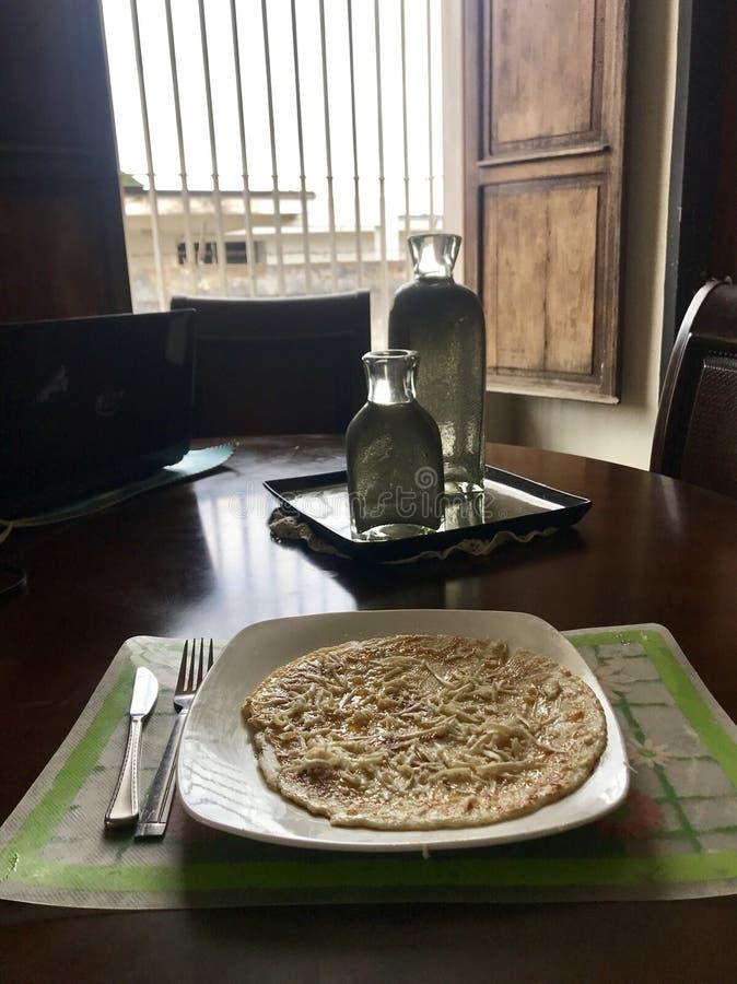 Hotcake śniadanie zdjęcia stock
