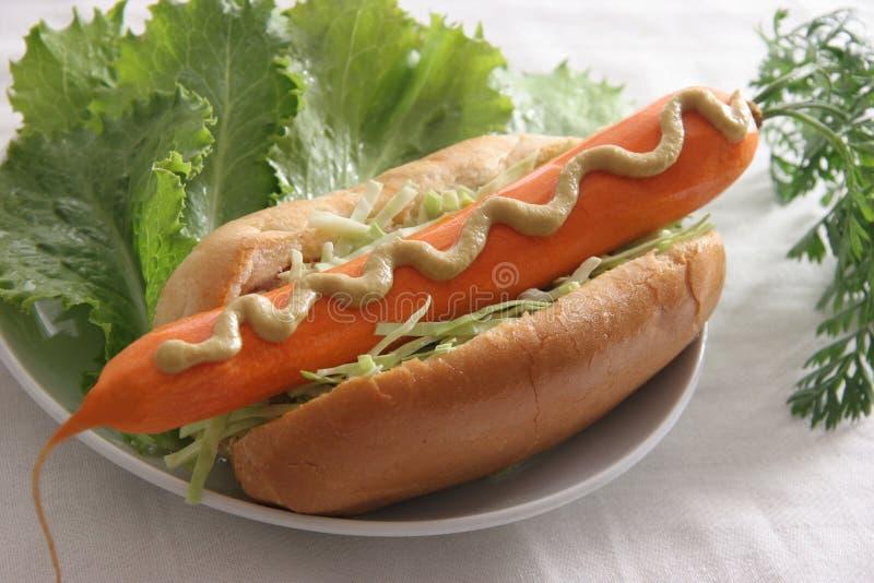 Hotdog. stock afbeeldingen