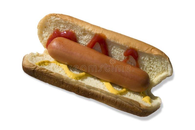 hotdog arkivbilder