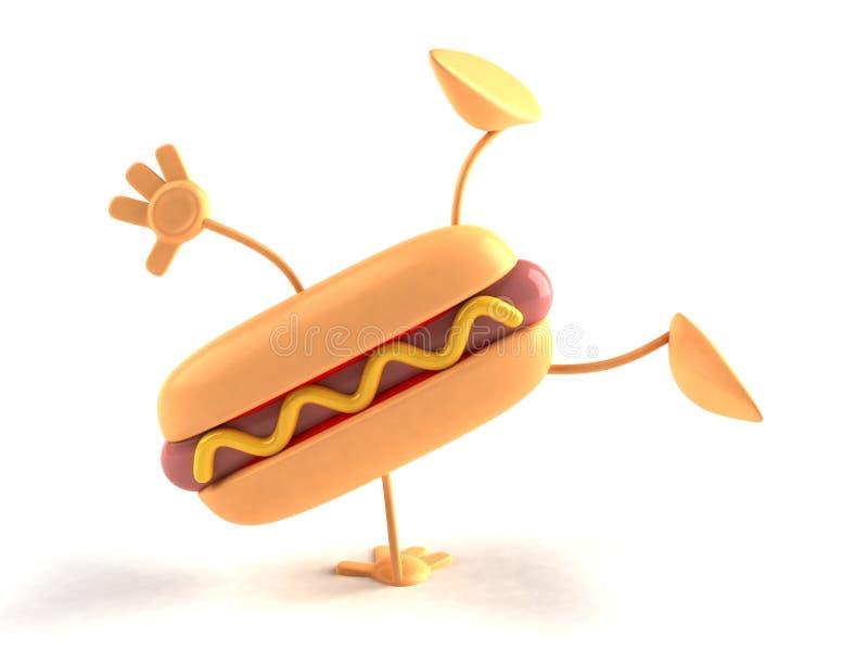 hotdog stock illustrationer