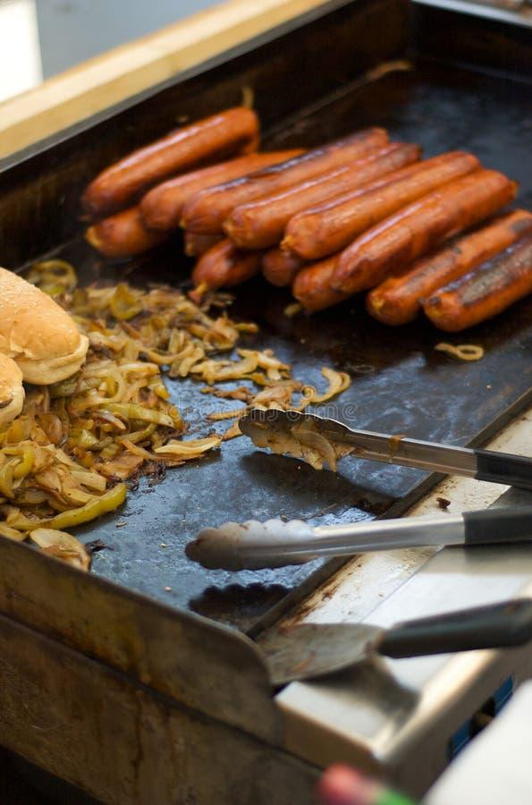 Hotdogs fotografia de stock royalty free