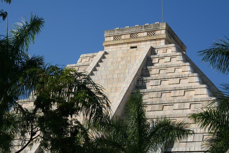 Hote maya de réception iberostar de Maya du Mexique la Riviera photo libre de droits