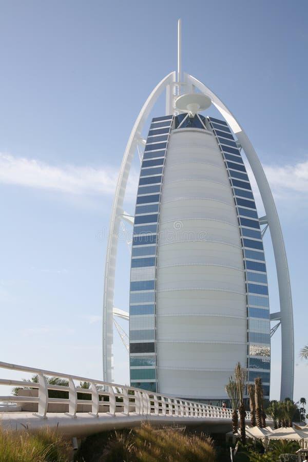 Hotel árabe do al de Burj - Dubai fotos de stock
