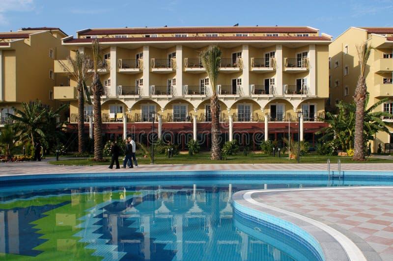 Hotel lizenzfreies stockfoto