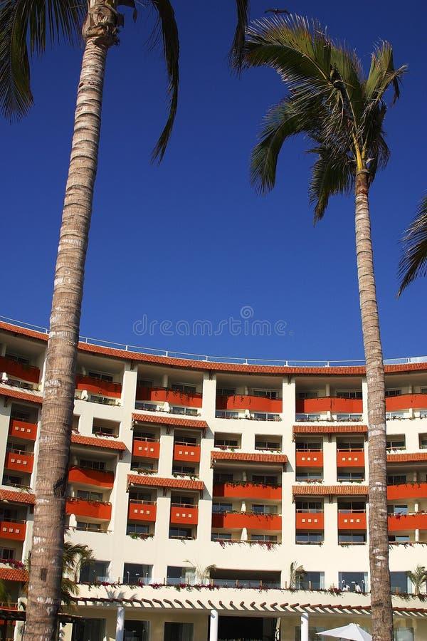 Hotel royalty-vrije stock afbeelding