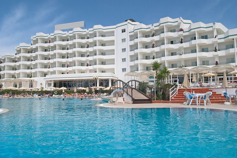 Hotel 2 van de luxe stock afbeeldingen