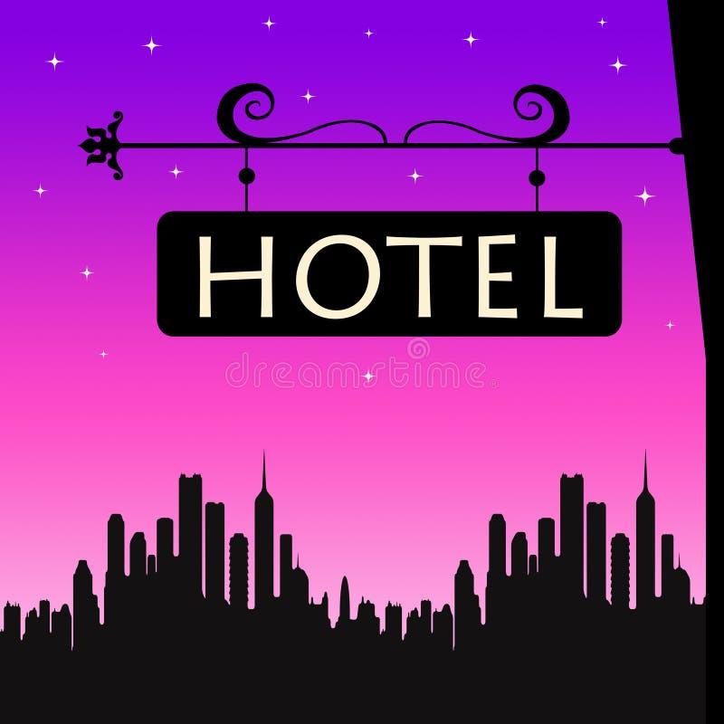Hotel illustrazione di stock