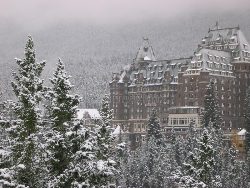 Hotel 4 van Banff stock foto