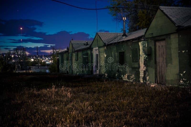 Hotel abandonado imagenes de archivo