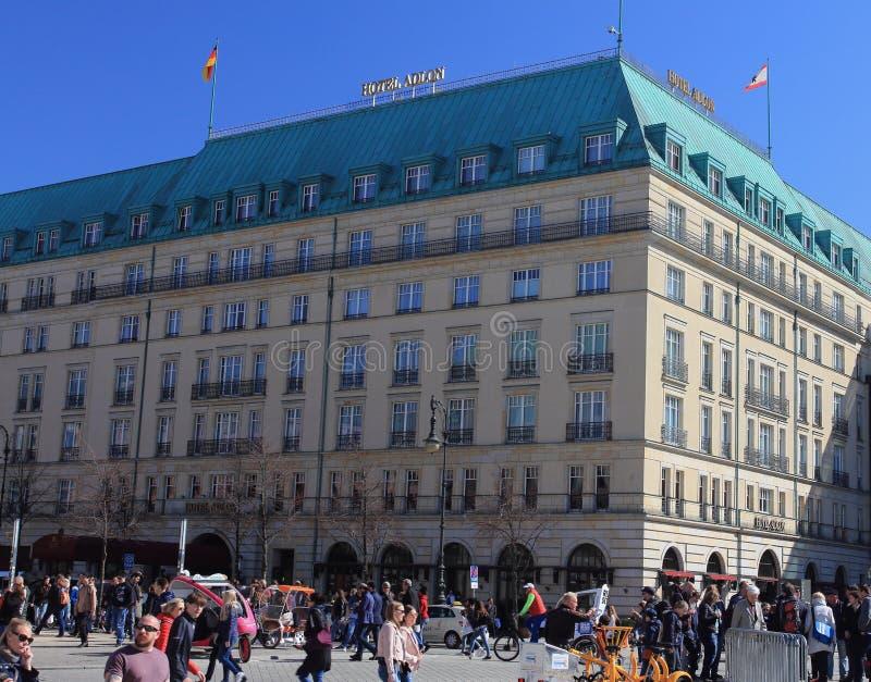 Hotel Adlon Kempinski Berlim foto de stock royalty free