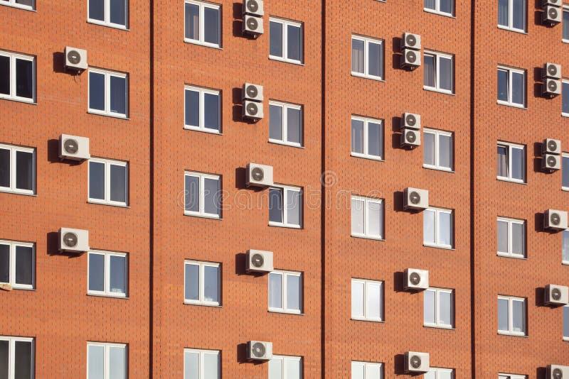Hotel alaranjado em Rússia fotografia de stock royalty free
