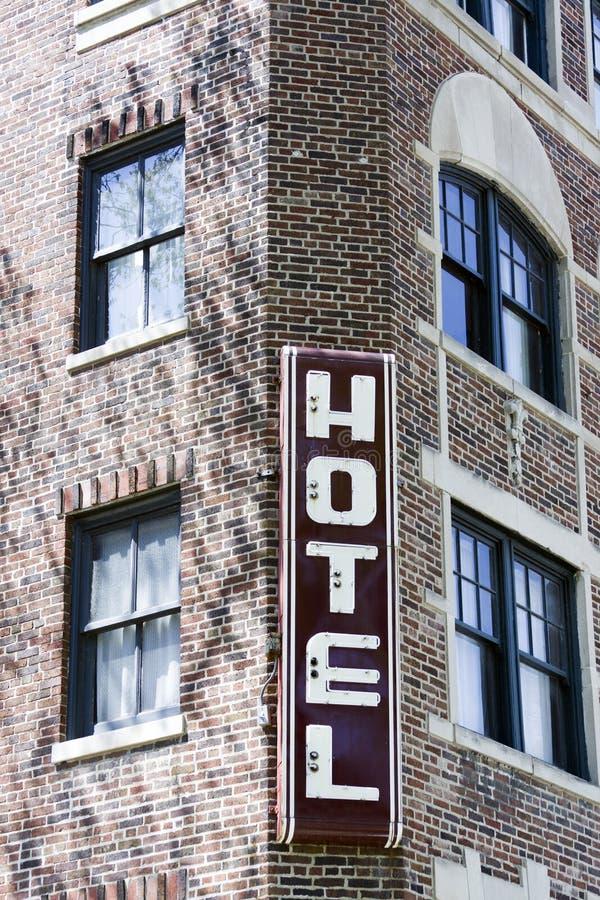 Hotel americano tradicional foto de stock royalty free