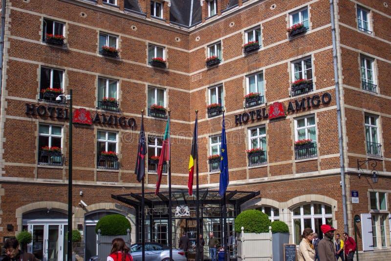 Hotel Amigo. Brussel, Belgium, May 2015 stock photos