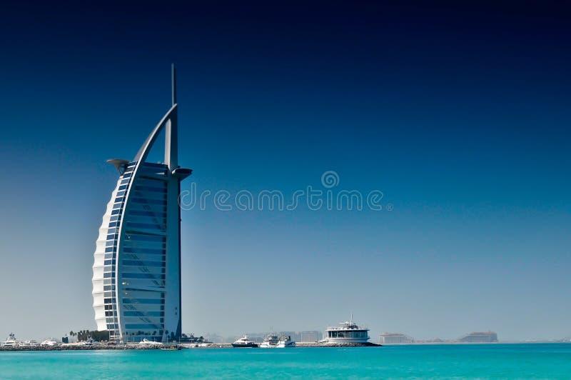hotel arabo della Doubai del burj di Al fotografie stock libere da diritti