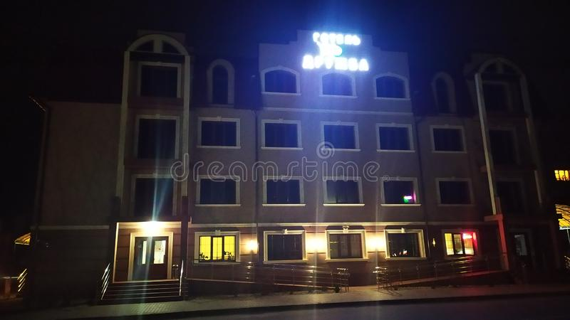 hotel artificial light royalty free stock images