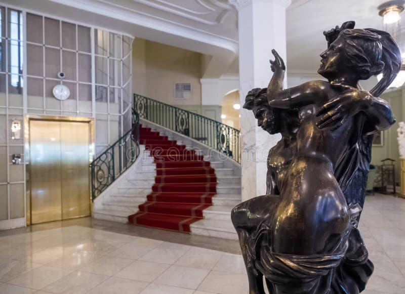 Hotel Astoria w Petersburgu, Rosja obrazy royalty free