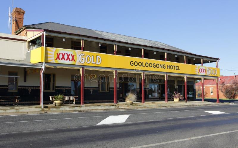 Hotel Australia de Gooloogong foto de archivo libre de regalías