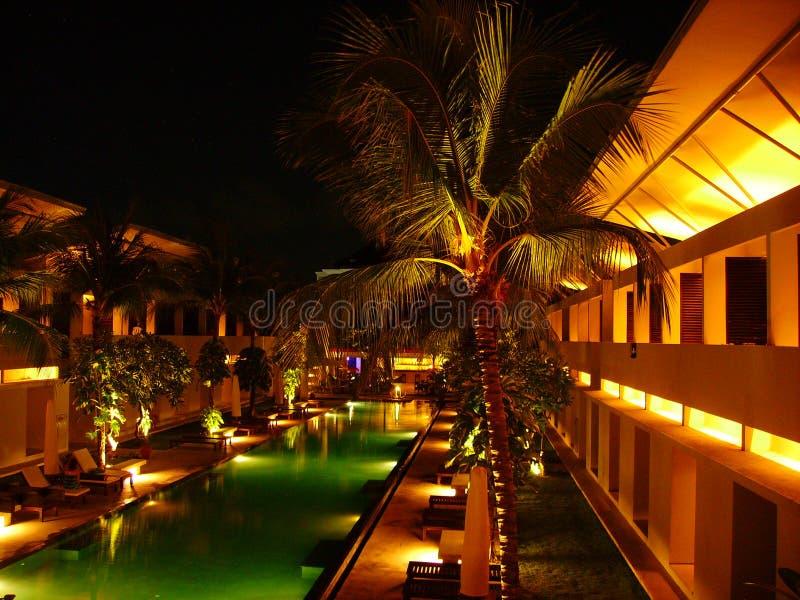 Hotel in Bali stock photos