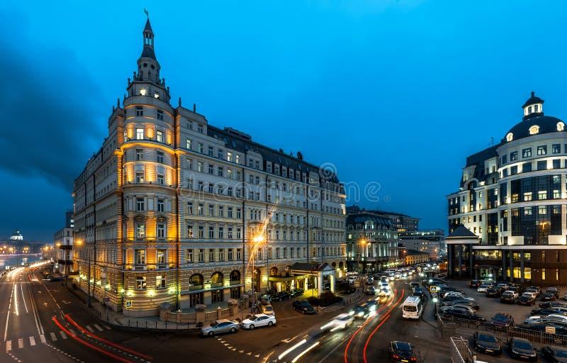 Hotel Baltschug Kempinski stock foto's