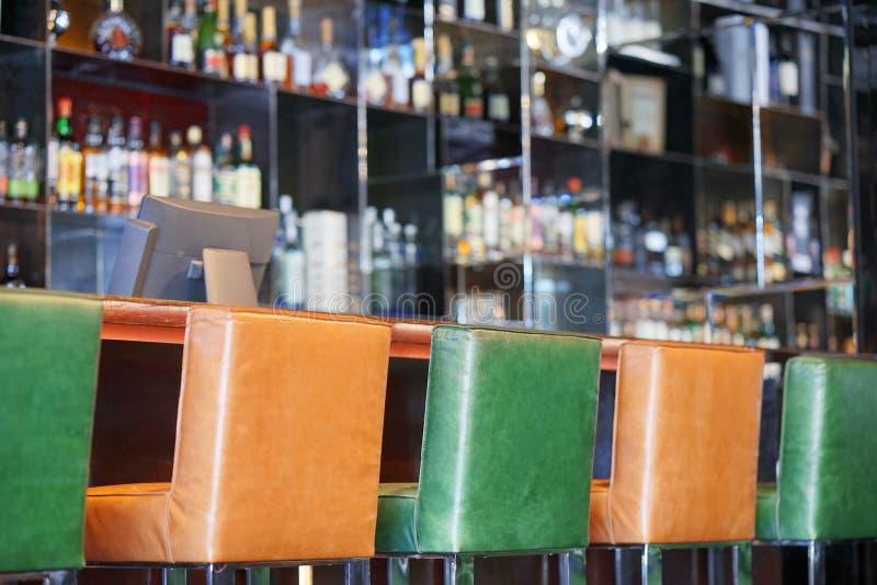 Hotel bar interior royalty free stock images