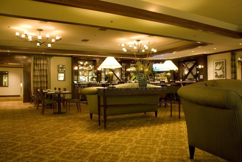 Hotel bar restaurant royalty free stock photo