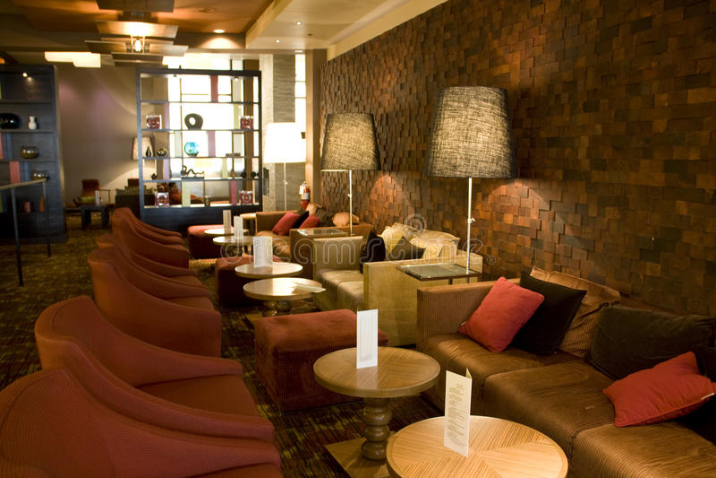 Hotel bar restaurant royalty free stock image