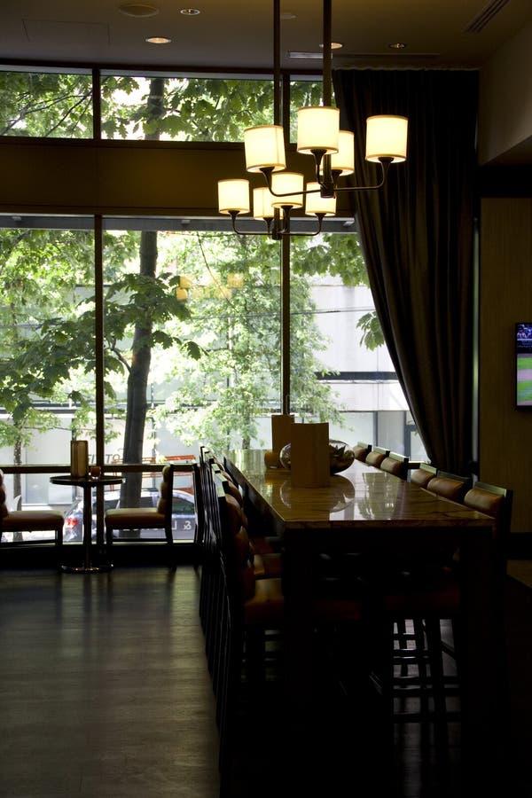 Hotel bar restaurant royalty free stock photos