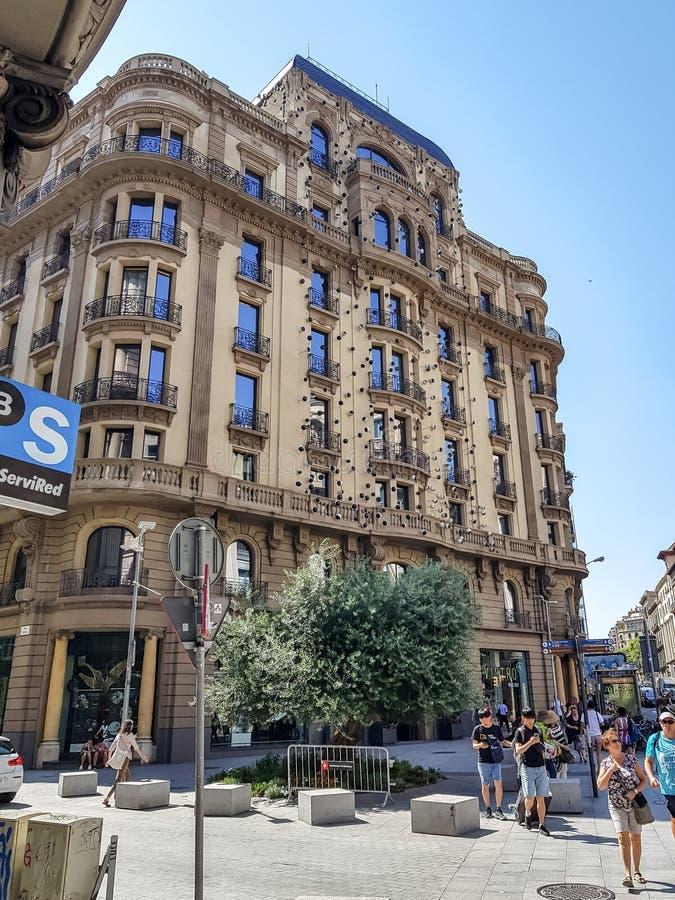 Hotel Barcelona de Ohla fotografia de stock royalty free