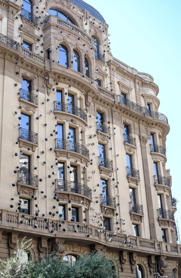Hotel Barcelona de Ohla foto de stock
