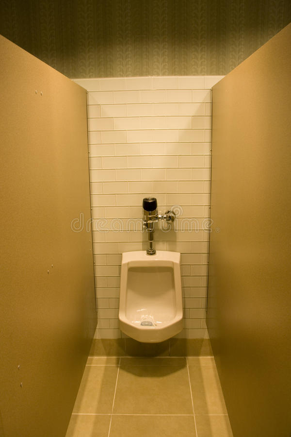 Hotel bathroom urine toilet bowl royalty free stock photography