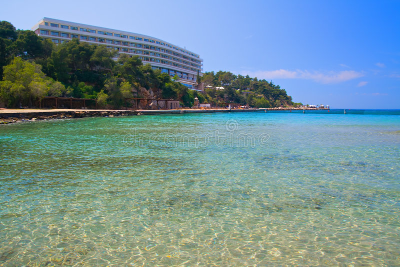 Hotel Bay stock images