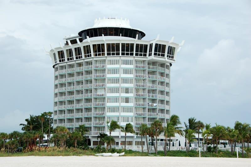 Hotel beira-mar em Florida imagens de stock royalty free