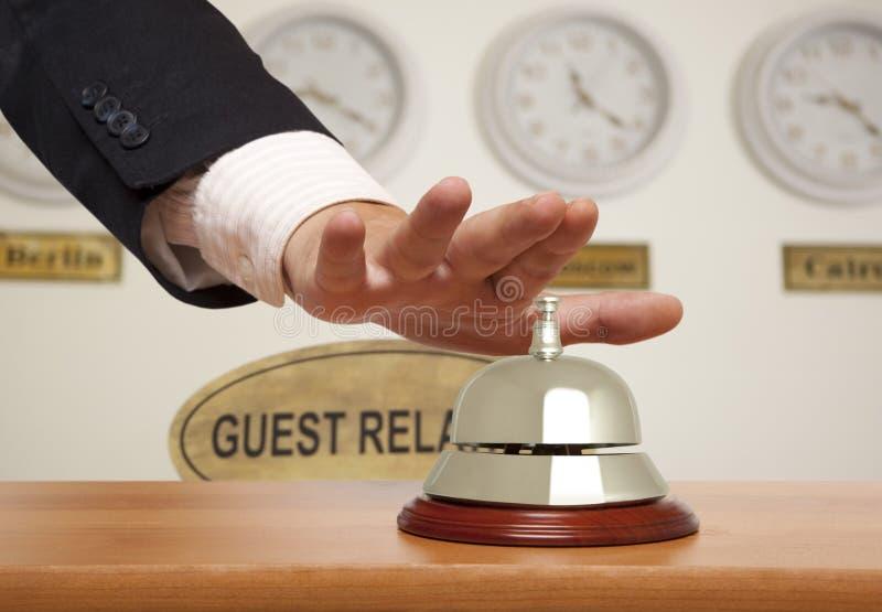 Download Hotel bell stock image. Image of caucasian, horizontal - 28229109
