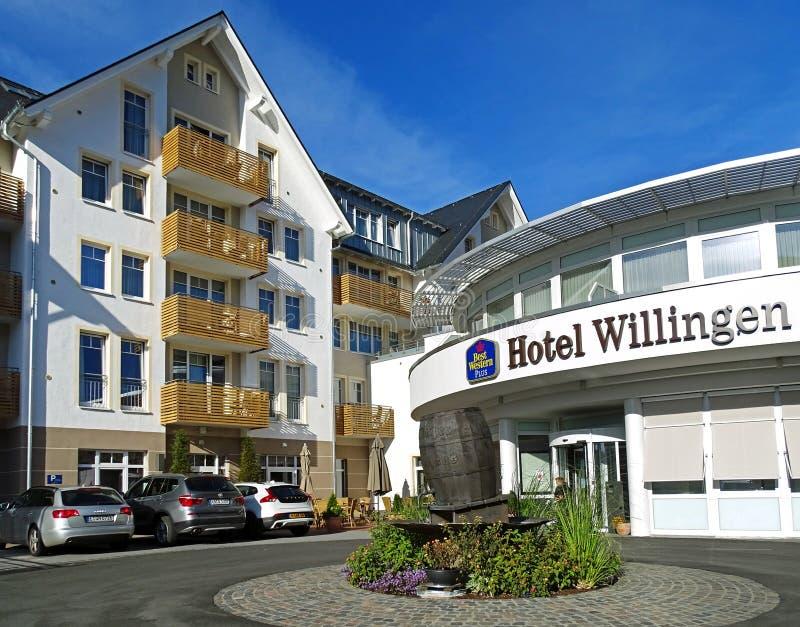 Hotel Best Western più Willingen Germania fotografia stock libera da diritti