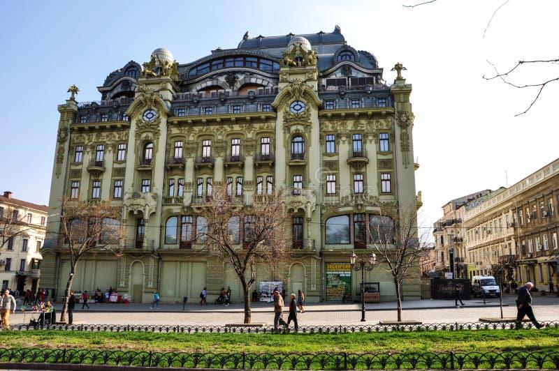 Hotel Bolshaya Moskovskaya allo stadio finale di ripristino fotografie stock