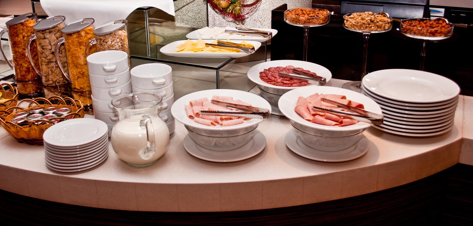 Download Hotel breakfast stock photo. Image of morning, eating - 25344182