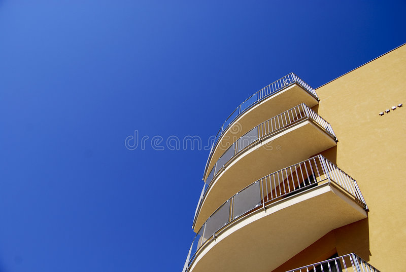Hotel Building Royalty Free Stock Photography