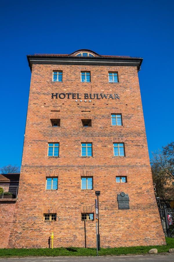 Free Hotel Bulwar On Vistula River Bank Royalty Free Stock Photo - 39448275