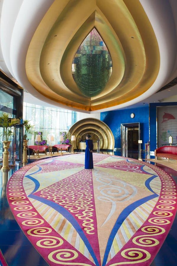 Foyer Decor Abu Dhabi : Hotel burj al arab dubai editorial image of middle