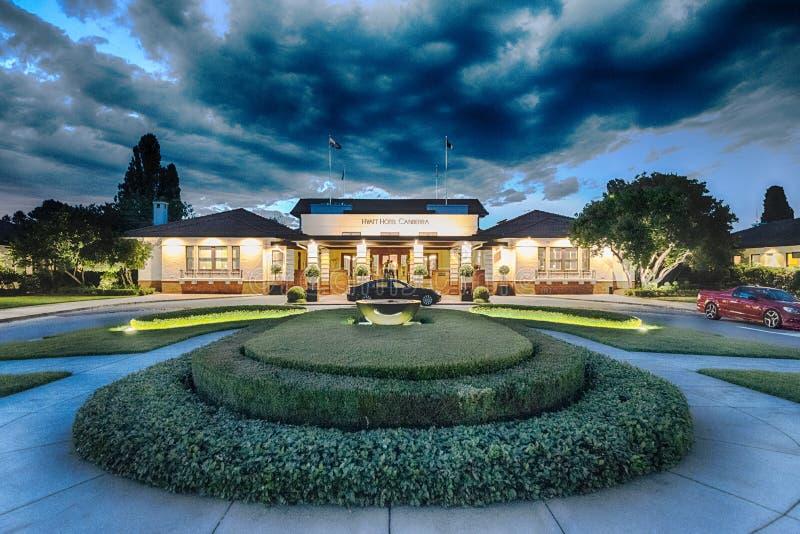 Hotel Canberra, Canberra, Austrália imagem de stock royalty free
