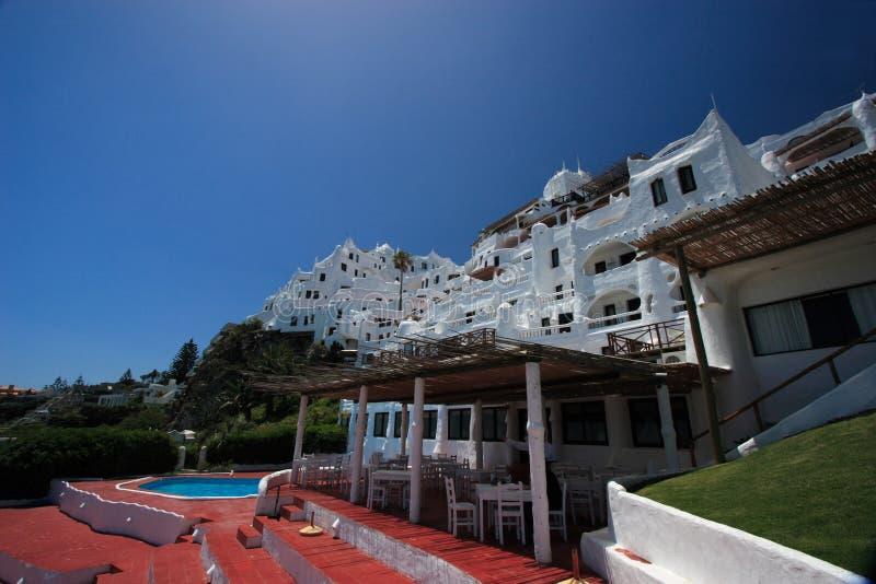 Hotel Casapueblo, Punta del Este, Uruguai imagens de stock royalty free