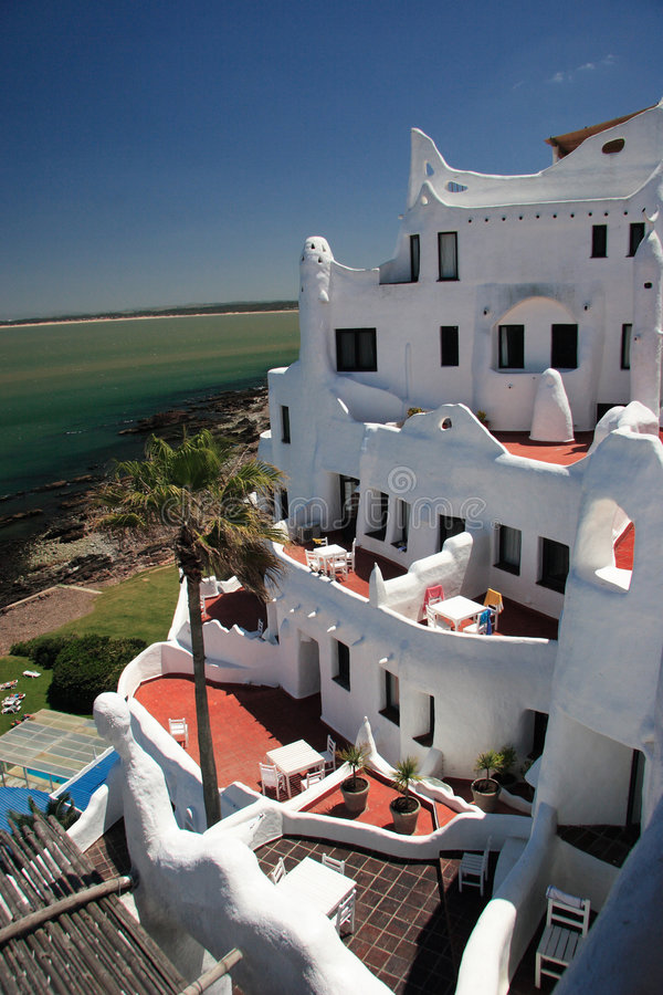 Download Hotel Casapueblo, Punta Del Este, Uruguay Stock Photo - Image of uruguay, polifac: 1700814