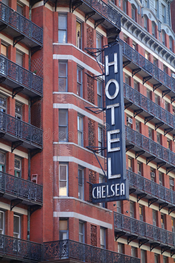 Hotel Chelsea royalty free stock photography