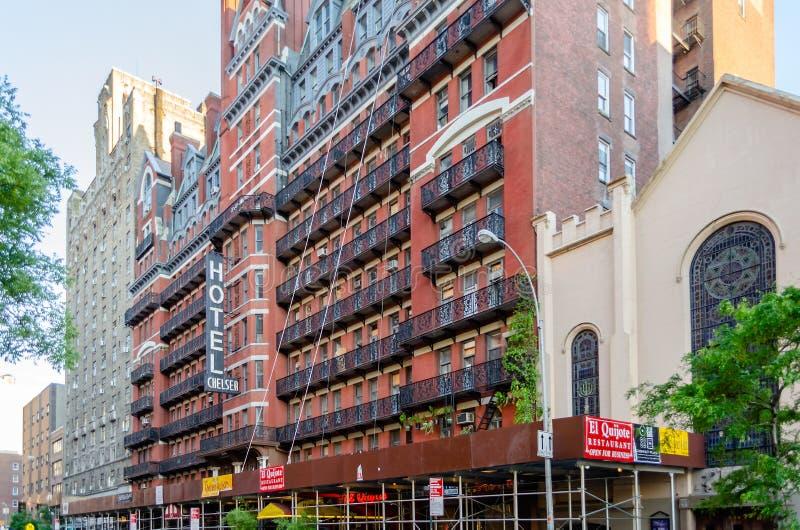 Hotel Chelsea, New York City fotografía de archivo libre de regalías