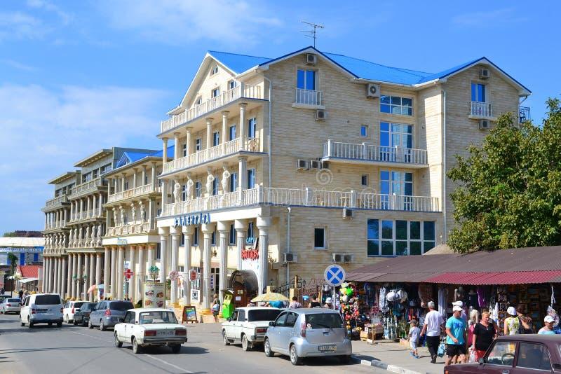 Download Hotel On Chernomorskaya Street In Vityazevo, Krasnodar Krai, Rus Editorial Photography - Image: 35111667