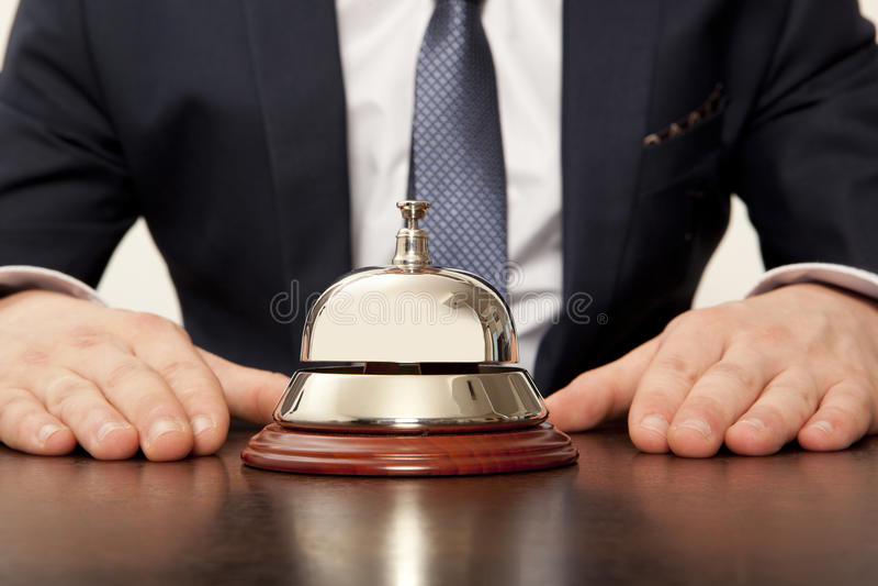 Hotel Concierg imagem de stock royalty free